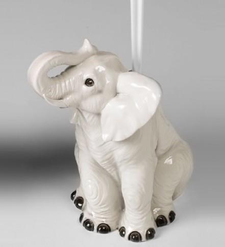 Weißen elefanten WC-Bürstenhalter