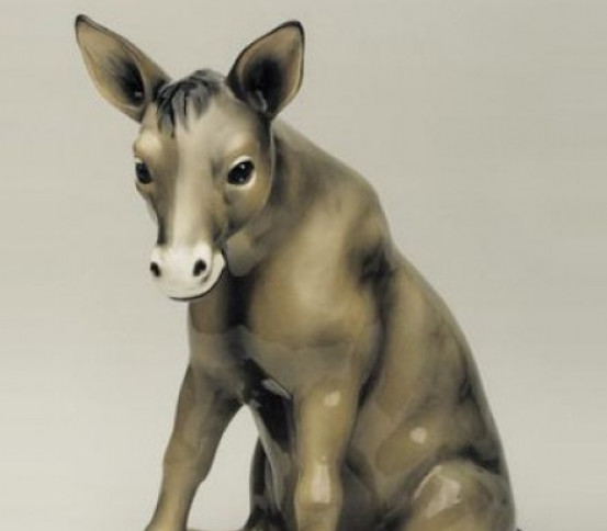 Estatua de burro