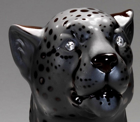Cheetah mattschwarz