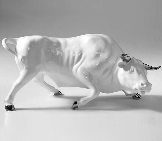 weißen Stier