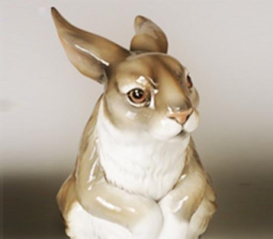 WC Brush holder rabbit