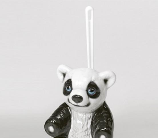 WC brush holder panda