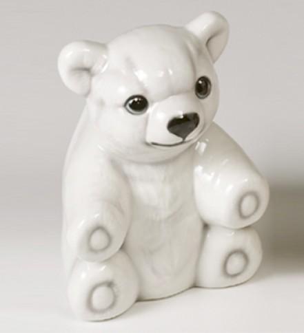 WC brush holder polar bear