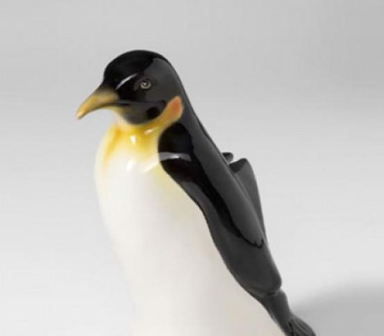 WC brush holder Royal Penguin