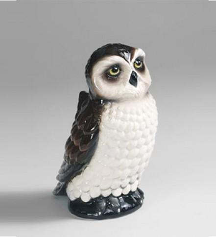 WC brush holder Owl
