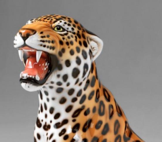 Ceramic Jaguar