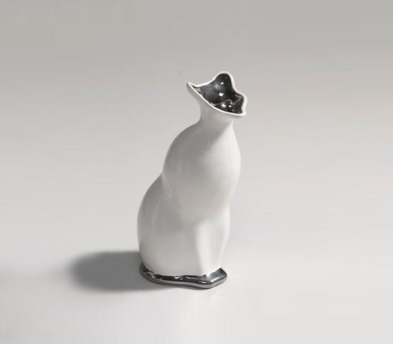 Jarrón de gato