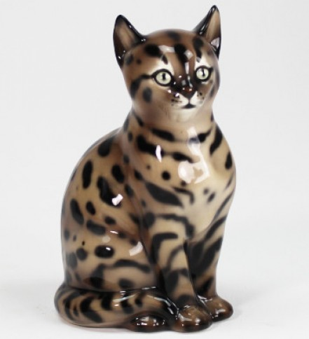 Gatto Mau Egiziano cm 28