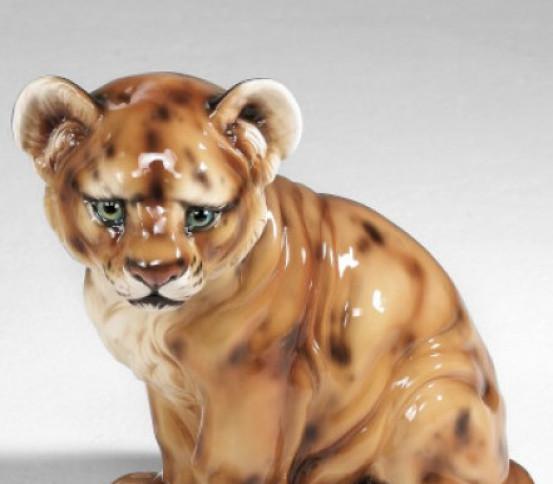 Leone cucciolo 47 cm